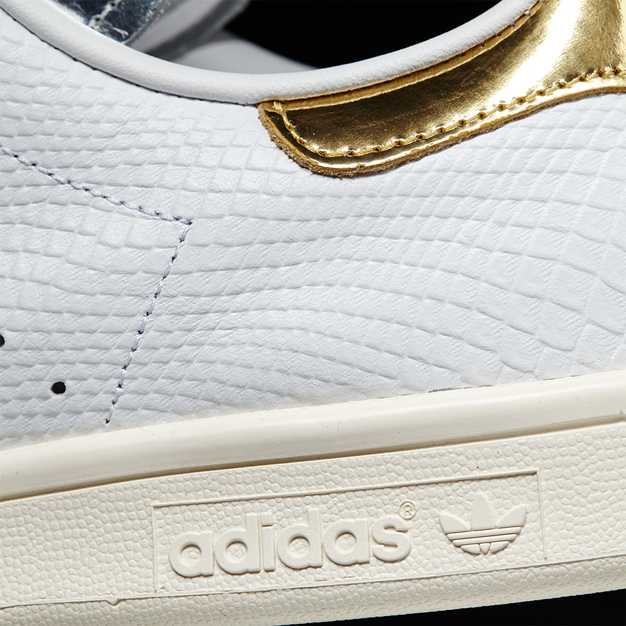 adidas stan smith plateadas