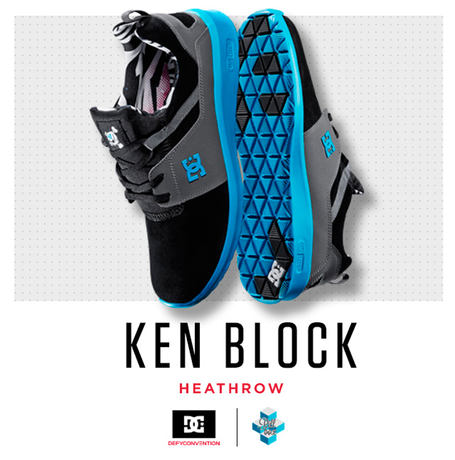 dc shoes presenta the heathrow x ken block desempacados. Black Bedroom Furniture Sets. Home Design Ideas