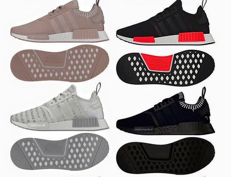 adidas nmd mujer colores