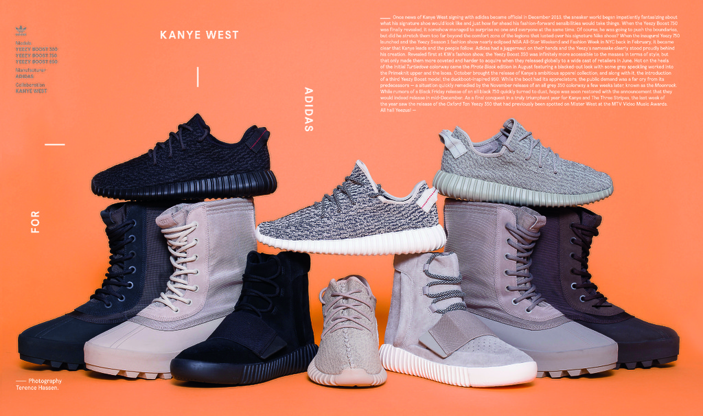 all gone 2015 adidas yeezy boost desempacados