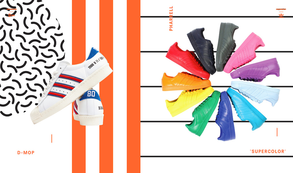 all gone 2015 adidas originals pharrell supercolor desempacados