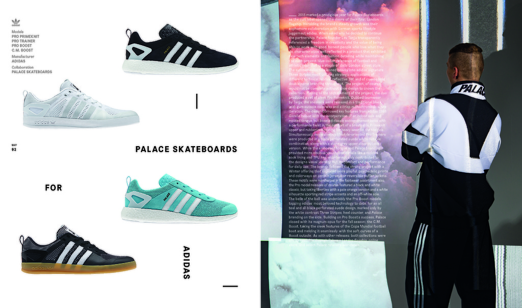 adidas originals palace skateboards boost desempacados