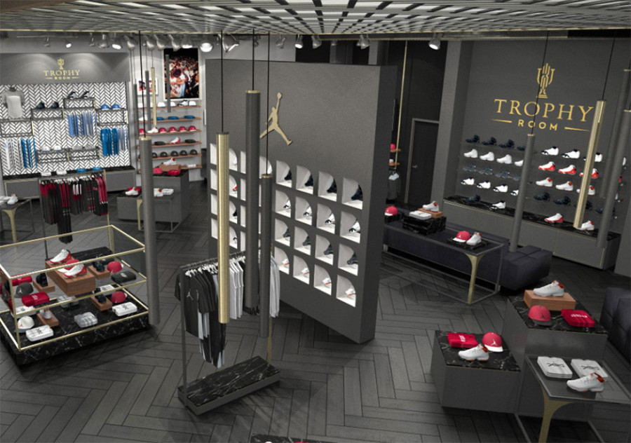 Hijo de michael jordan abre sneaker store en disney world for Nike jordan shop