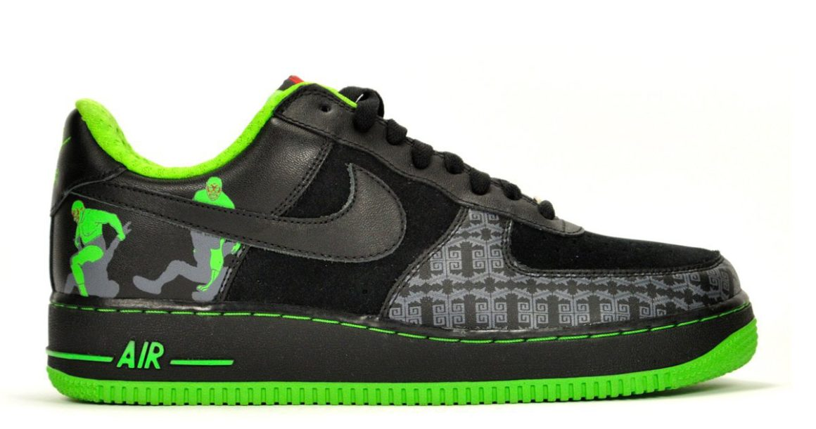nike air force one low lucha libre da flow team