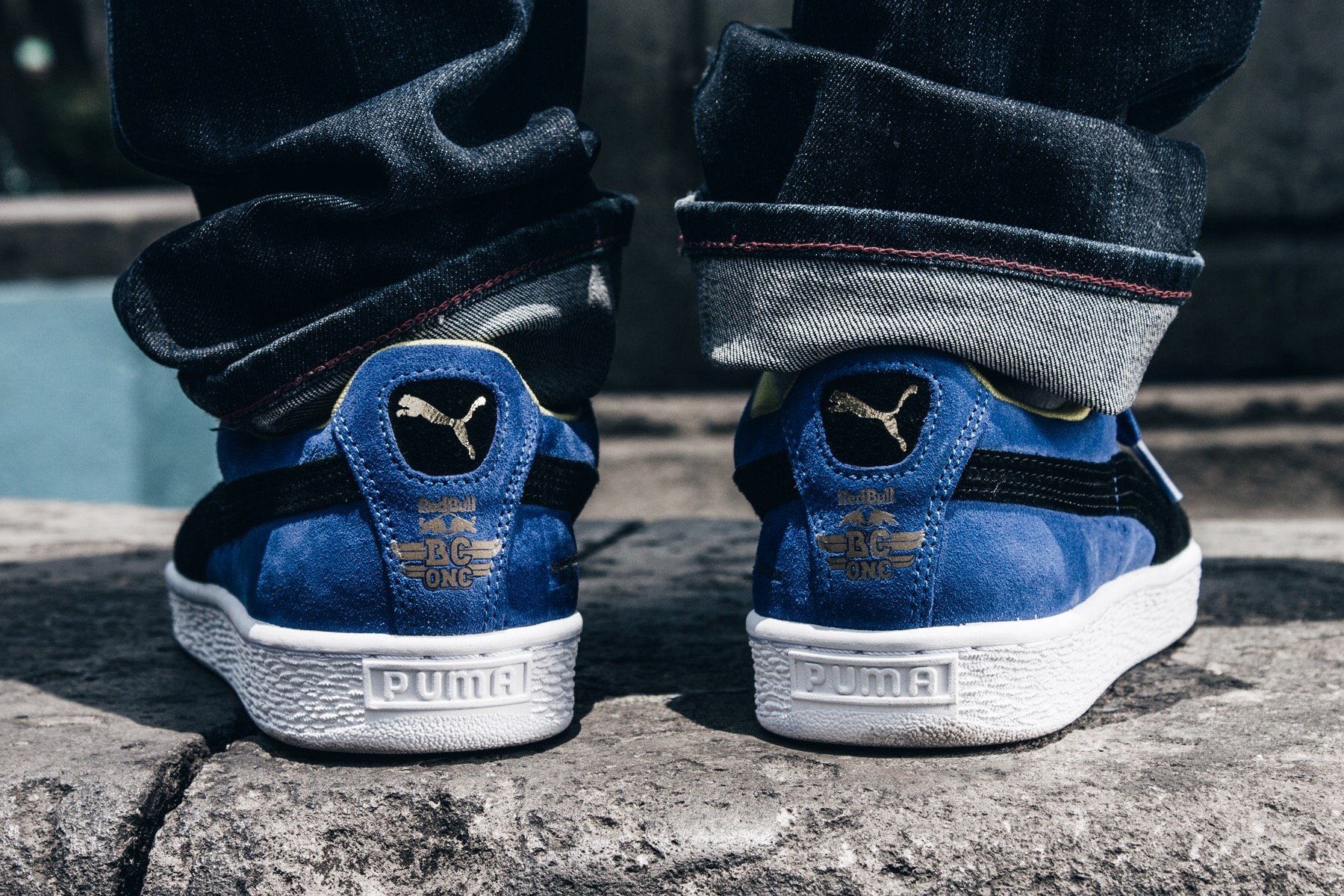 Puma Suede Red Bull Bc One INYCfcn