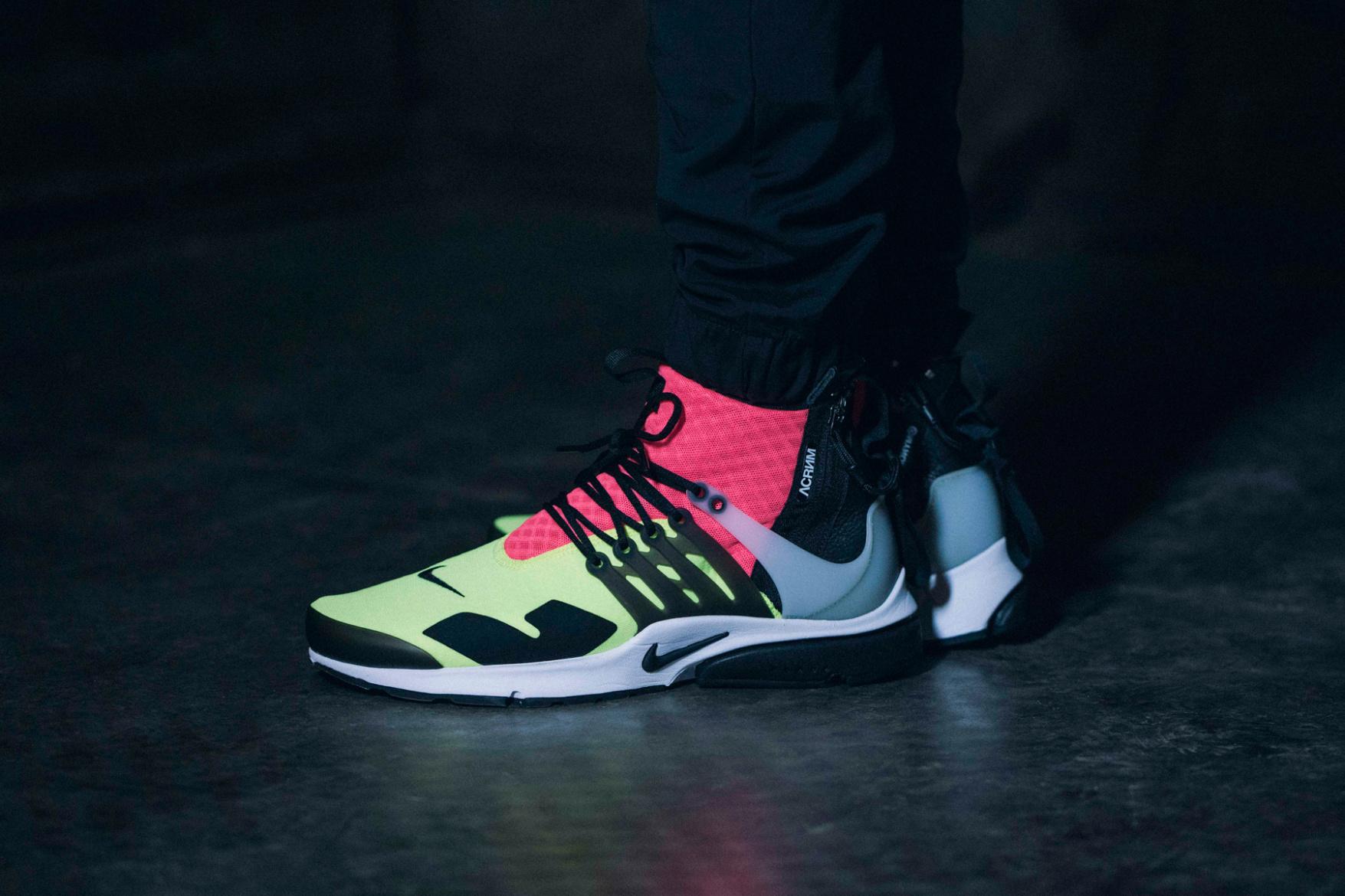 new arrival 2384f 5ca36 ... real acronym nike air presto neon sneakers 2 905a8 e3540