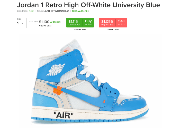 Inocencia Campo Feudal  Desempacado: Air Jordan 1 x Off White