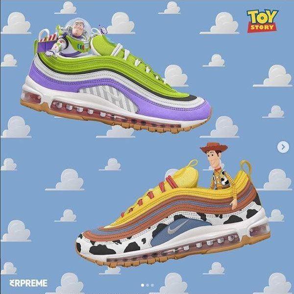 finest selection 72b53 1c7a9 ¿Nike y Toy Story juntos    Desempacados