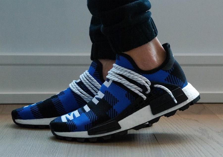 bbc-adidas-nmd-hu-flannel-blue-black-2 | Desempacados