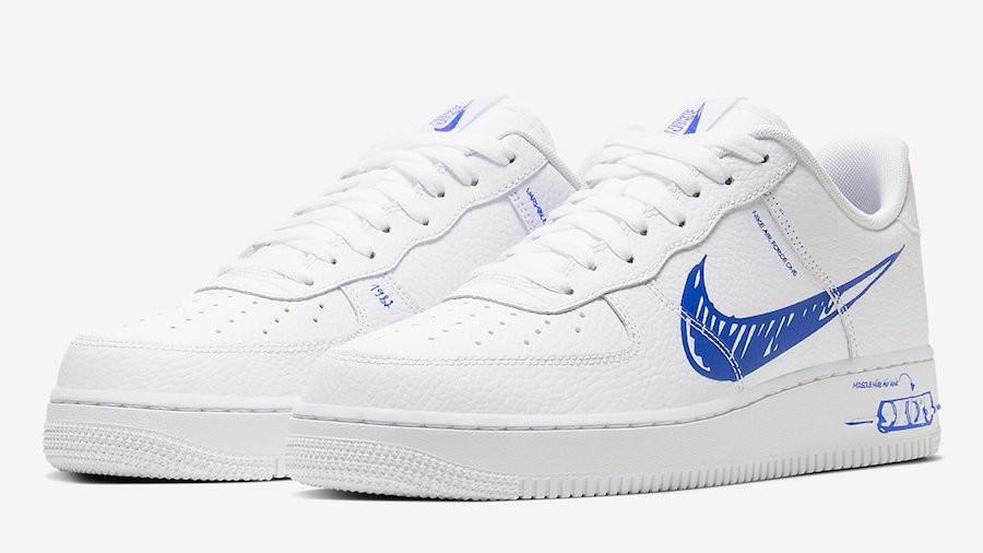 air force 1 low blancas