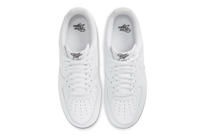 air force 1 plantilla