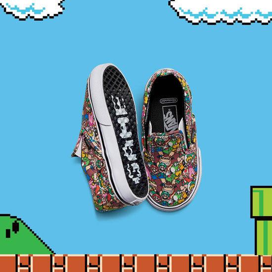 FA16_T_Classics_SlipOn_Nintendo_SuperMarioBrosMulti_Pair2-ELEVATED